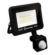 Reflector Led Sensor Movimiento Exterior 50w Luz Fria 220v