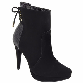 Bota Ankle Boot Via Marte 17-2403 - Preto 8953