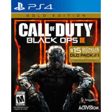 Call Of Duty Black Ops 3 Gold Edition Ps4 Digital Español
