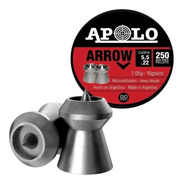 Balines Apolo Arrow 5.5 X250 Aire Comprimido 16 Grains
