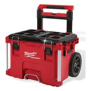 Caja Porta Herramientas Baul Con Ruedas Carro Milwaukee 8426