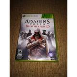 Assassins Creed Brotherhood Xbox 360 Original Usado