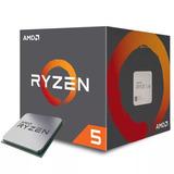 Micro Procesador Amd Ryzen 5 1600 3.6ghz Wraith Spire Cooler