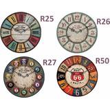 Relojes De Pared Vintage Sala De Juego 29 Cm
