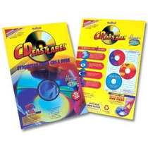 50 Etiquetas Adesivas Para Cd / Dvd - Jato De Tinta Ou Laser
