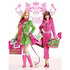 Juguete 2004 Gold Label Juicy Couture Barbie Muñecas De Col