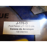Corona De Arranque Lujor Ford Falcon/ F100 6 Ci 130 Dientes