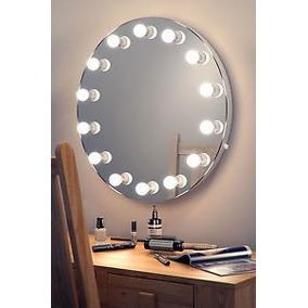 Espejos con luz tipo hollywood en mercado libre m xico for Espejo para maquillarse