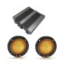 Kit 2 Reparos D305 + Amplificador Digital Power System A1000