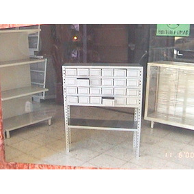Ferreteria, Almacen, Cajas Metalicas, Anaquel, Estante Metal