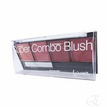 Paleta Super Combo Blush Luisance - Pincel/espelho