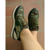 Zapatos Camuflados Colombianos Dama