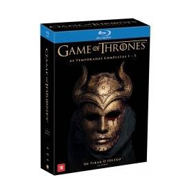 Blu-ray Game Of Thrones - As Temporadas Completas 1-5 (25 Bd