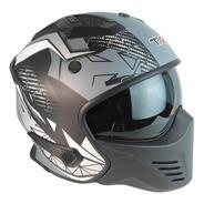 Casco Tx2 Cafe Racer Certificado Ece Modular Careta Y Gafas
