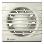 Ventilador Extractor Baño Con Temporizador Edm-80 Nt
