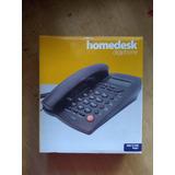 Telefono Alambrico Con Pantalla Digiphone Tc-9200 Negro