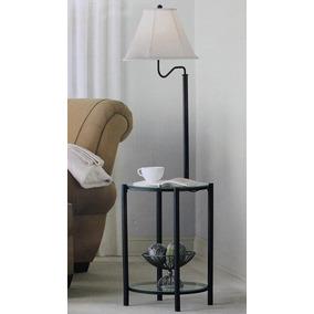 Mainstay floor lamp en mercado libre mxico mainstays glass furniture floor lamp matte black finish aloadofball Image collections