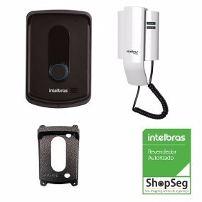 Porteiro Residencial Interfone Intelbras Ipr 8010 + Protetor