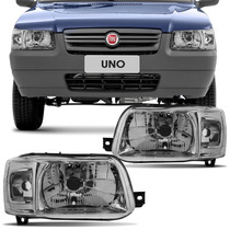 Farol Fiat Uno Mille Fiorino 2004 2005 2006 07 08 09 10
