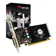Placa De Vídeo 2gb Ddr3 64 Bits Afox Nvidia Gt610 Lowprofile