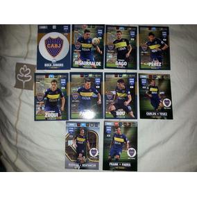 Lote 10 Cartas Boca Juniors Fifa 365 2017
