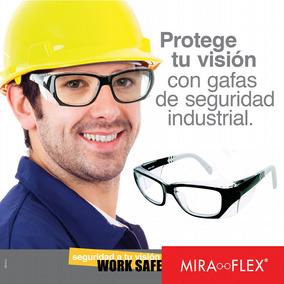Gafas Miraflex Seguridad Industrial Ansi Z.87 Lente Formula