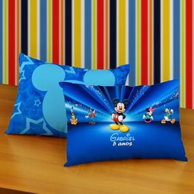 Almofadas Personalizada Brindes 20x30cm Mickey Aniversario
