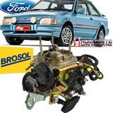 Carburador 2e Escort Pampa Ap 1.6 1.8 Alcool Solex Brosol
