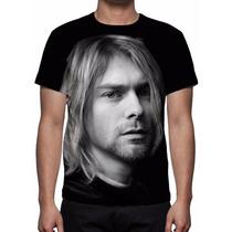 Camisa, Camiseta Kurt Cobain - Estampa Total