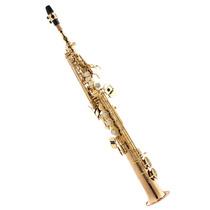 Saxofone Soprano Profissional Com Case Spx512 L Eagle Laquea