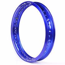 Aro De Moto Alumínio Motard 18 X 2.15 Viper Azul Cg Ml Today