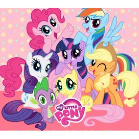 Kit Imprimible My Little Pony Candy Bar Cotillón Regalos 2x1