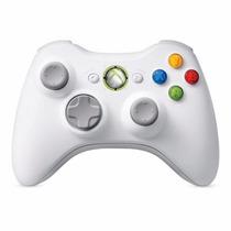 Controle Xbox 360 Wireless Original Sem Caixa Branco