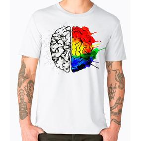 Playera Cleen Alexer Moda Hipster Cerebro Colorido Mod 43 1e1f146d731a9
