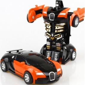Transformers Robo Bumblebee Transforma Robo Em Carro