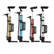 Inflador De Bicicleta Aluminio Pico Para Pelotas Y Inflables