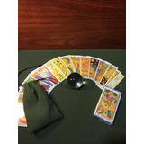 Tarot Marsella+tapiz+bolsa+bola De Cristal+5librospdf+envio