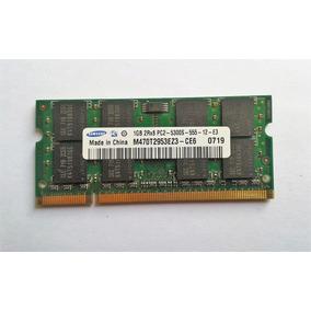 Memoria Samsung 1gb 2rx8 Pc2-5300s-555-12-e3