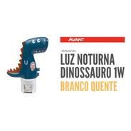 Luz Noturna Led Abajur Infantil Dinossauro 1w Avant 3000k