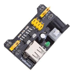 Módulo Fonte Protoboard 400, 830 Furos 3,3v E 5v Arduino