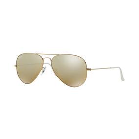 Ray Ban Caçador Bl Banhado A Ouro Tam. Medio Oculos Antigo De Sol ... dac6967dfb