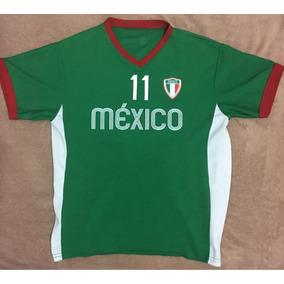 Playera México Béisbol O Soccer Verde