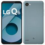 Smartphone Lg Q6, Dual Chip, Platinum, Tela 5.5 , 13mp, 32gb
