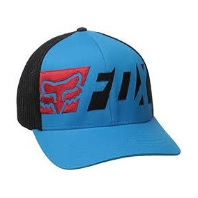 Gorra Fox Racing Eruption Azul Flexfit S m Original 392d6acfcc3