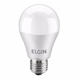 20 Lâmpadas Led Residencial 9w Bulbo Econômica Elgin 6500k