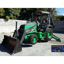 Retroexcavadora John Deere 310j 4x4, Ext., Kit Martillo,2011
