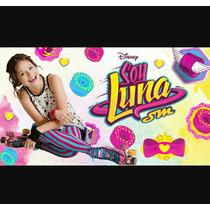 Soy Luna Patines Artístico 35al40+cas.+coderas+ Rodillera
