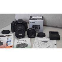 Camera Canon T3i 2 Lentes 18-135mm + 50mm 1.8 Stm Completa