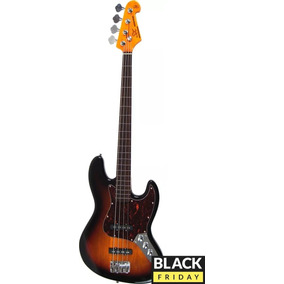 Black Friday - Baixo Sx Sjb62 Ftor Jazz Bass Fretless