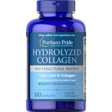 Colágeno Hidrolizado + Vitamina C 1000 Mg 180 Tabletas Usa
